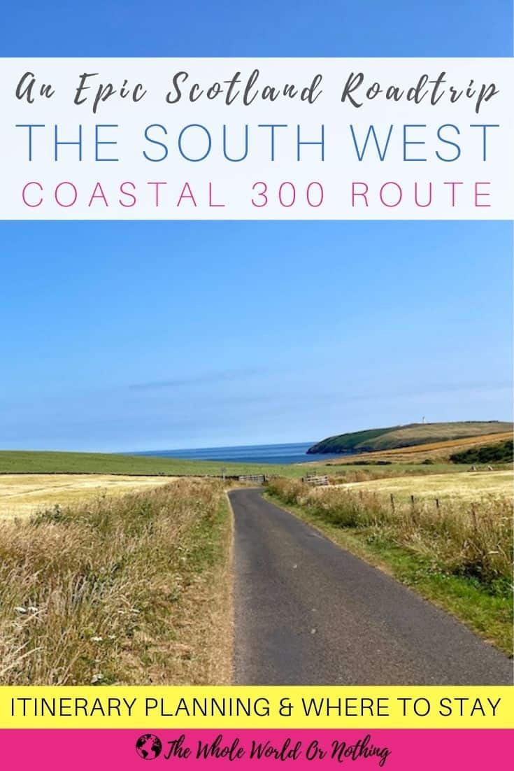 road on south west coastal 300 route