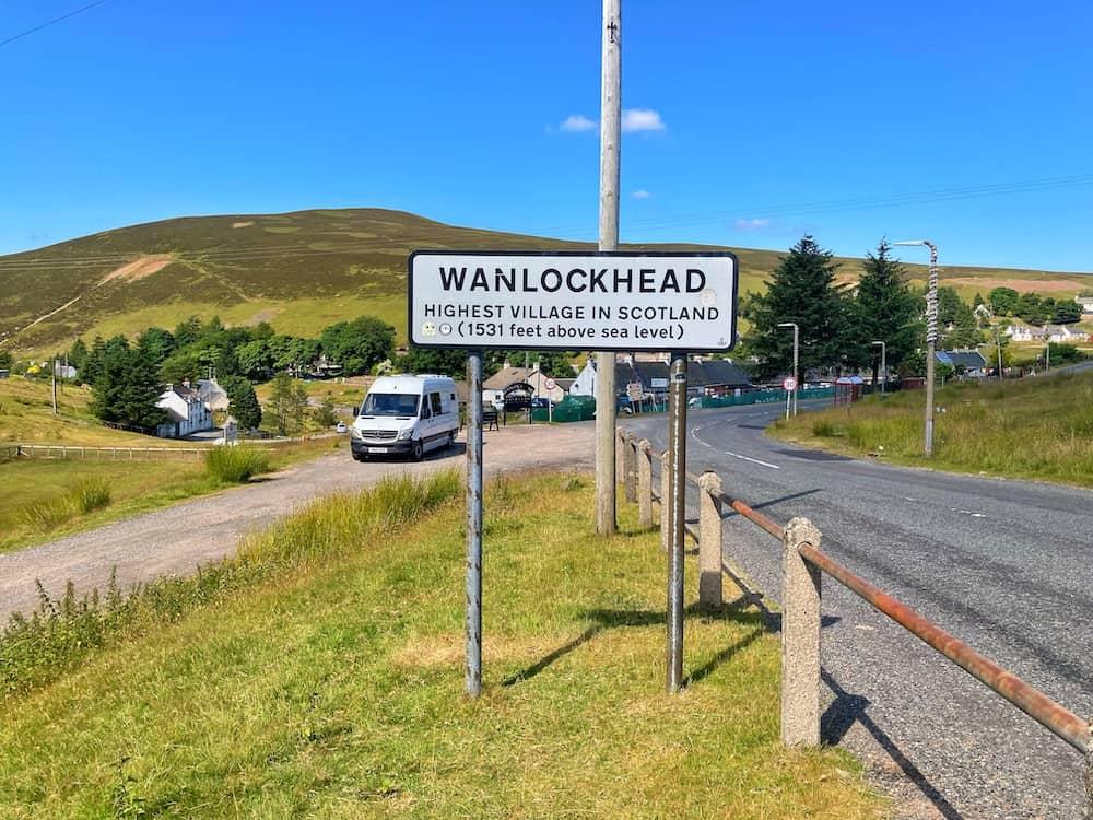Wanlockhead Highest village in Scotland